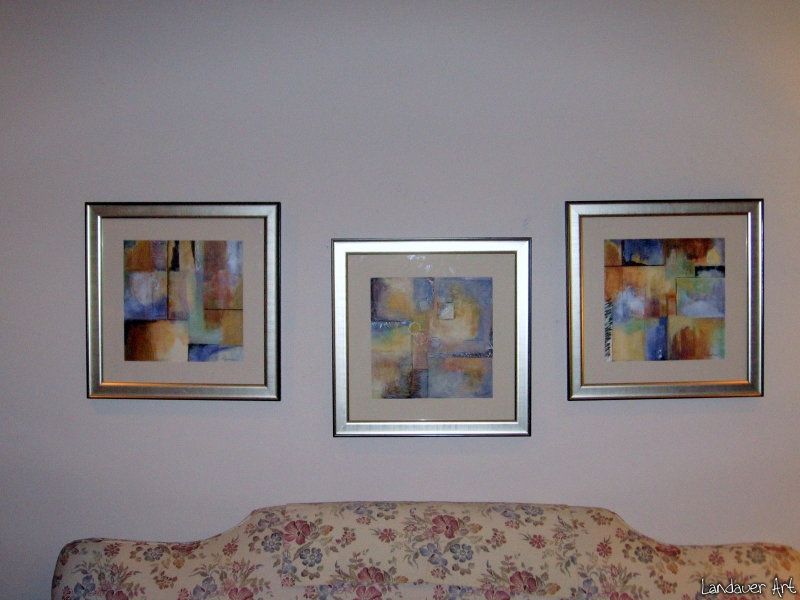 Couch triptych