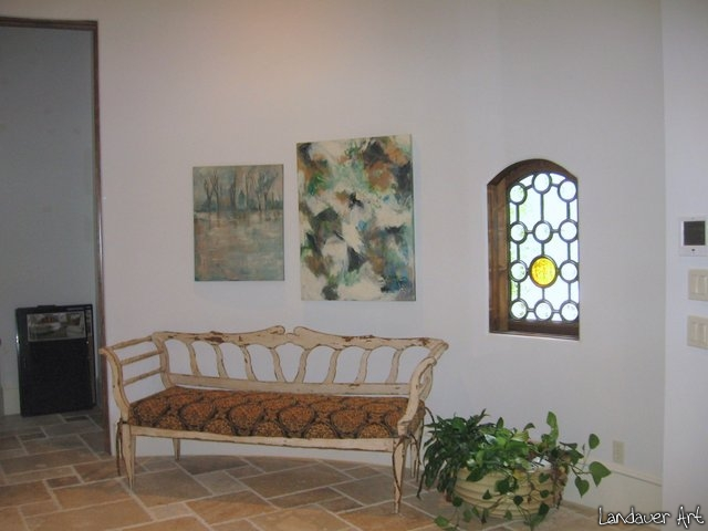 Landauer Art in Staged homes and Sold pieces