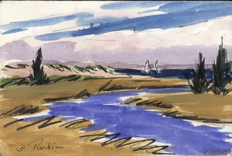 sailboats-and-the-cove-renee-rubin