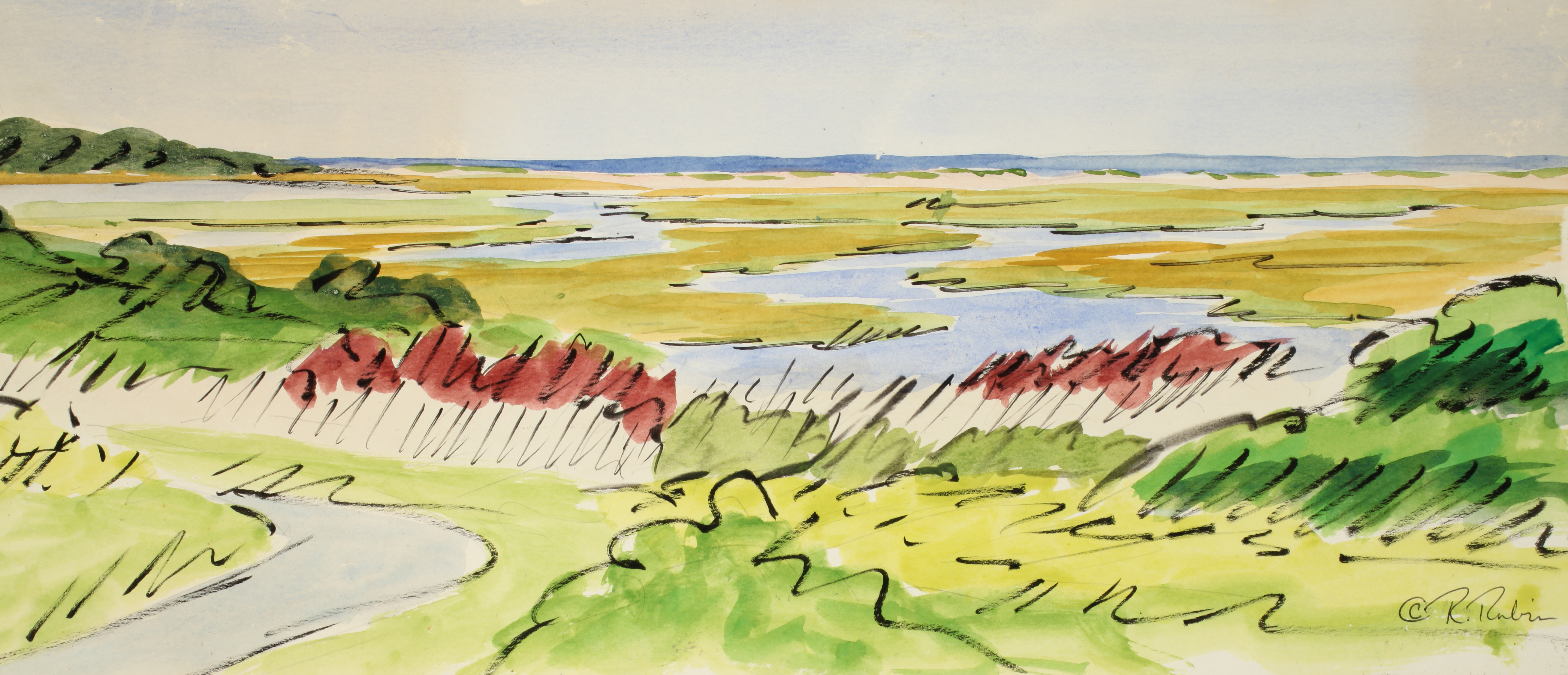 renee-rubin-the-marshes-are-green