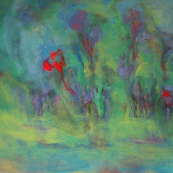 Forest-Free-Fall-36x36-Ruth-Landauer-