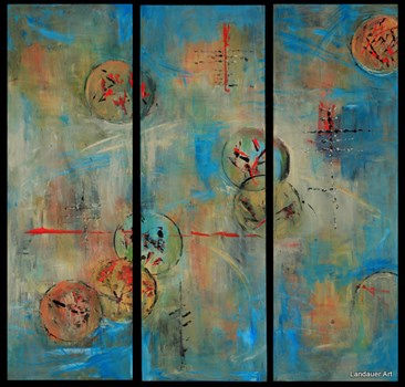 Mystical Hues Triptych