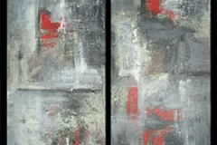 Abstract-cityscapes-I,II